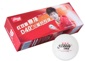 Мячи для настольного тенниса DHS 40+ *** 10 штук