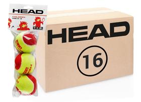 Теннисные мячи Head T.I.P Red 48 мячей (16 по 3)