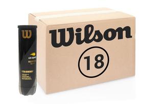 Теннисные мячи Wilson US Open коробка 72 мяча