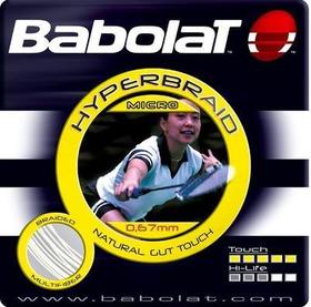 Бадминтонная натуральная струна Babolat Hyper Braid
