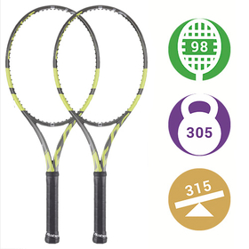 Комплект из 2-х теннисных ракеток Babolat Pure Aero VS. Новинка 2020 года!