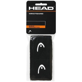 "Напульсник Head Wristband 2.5"" Черный"