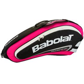 Чехол для бадминтонных ракеток Babolat Team Line 4 Розовый