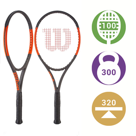 Теннисная ракетка Wilson Burn 100 CV Фото <label itemprop='name'>Теннисная ракетка Wilson Burn 100 CV</label>