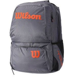 Рюкзак Wilson Tour V Medium Grey Orange Фото <label itemprop='name'>Рюкзак Wilson Tour V Medium Grey Orange</label>